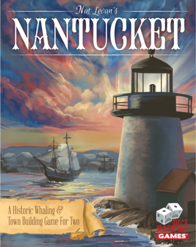 Nantucket: A Historic Whaling & Town Building Game For Two