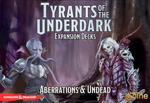 Dungeons & Dragons: Tyrants of the Underdark - Aberrations & Undead Expansion Decks