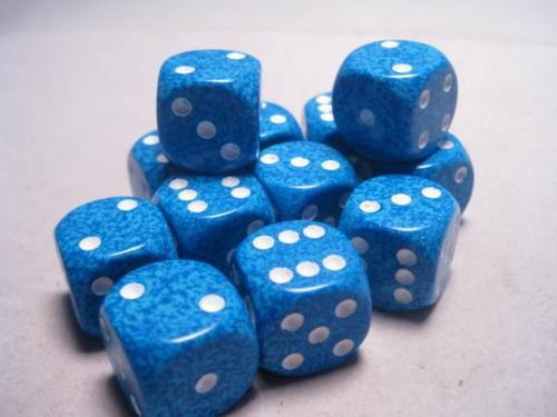 16mm d6 - Water Speckled
