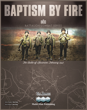 Baptism By Fire: The Battle of Kasserine, February 1943 (DING/DENT-Medium)