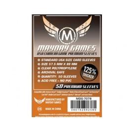 USA Chimera Sleeves, Dark Orange Label Premium (50/pack) 57.5 X 89 MM