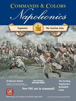 Commands & Colors: Napoleonics Expansion - The Austrian Army, 2nd Printing