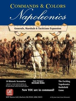 Commands & Colors: Napoleonics Expansion - Generals, Marshalls, & Tacticians