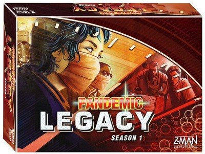 Pandemic: Legacy - Season 1 (Red) (DING/DENT-Very Light)