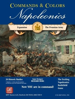 Commands & Colors: Napoleonics Expansion - The Prussian Army, 2nd Printing