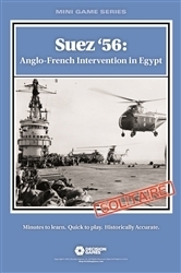 Suez '56: Anglo-French Intervention in Egypt (A Solitaire War Game)
