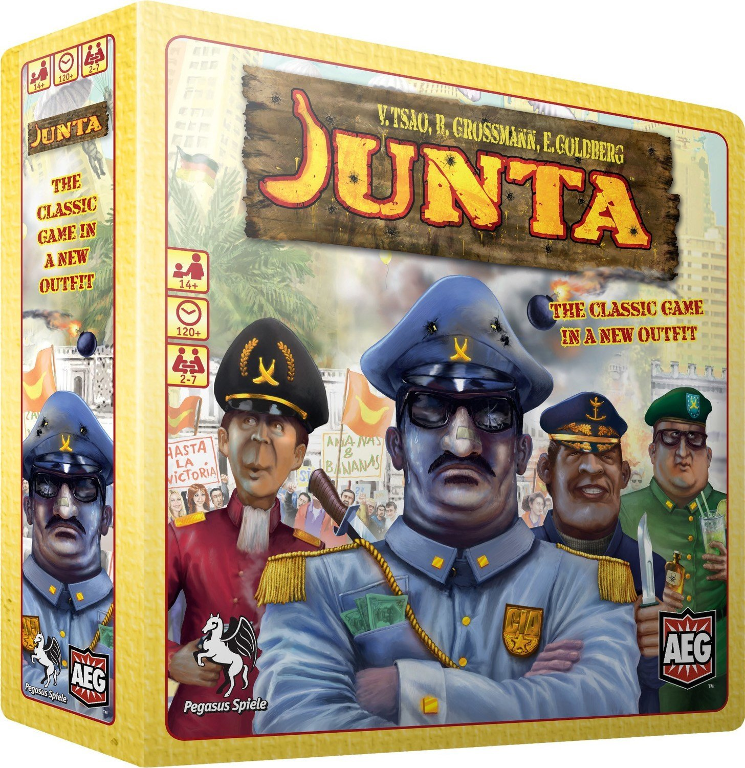 Junta: The Classic Game of Power, Money, Intrigue, and Revolution (DING/DENT-Light)