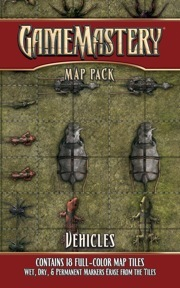Pathfinder GameMastery Map Pack: Vehicles
