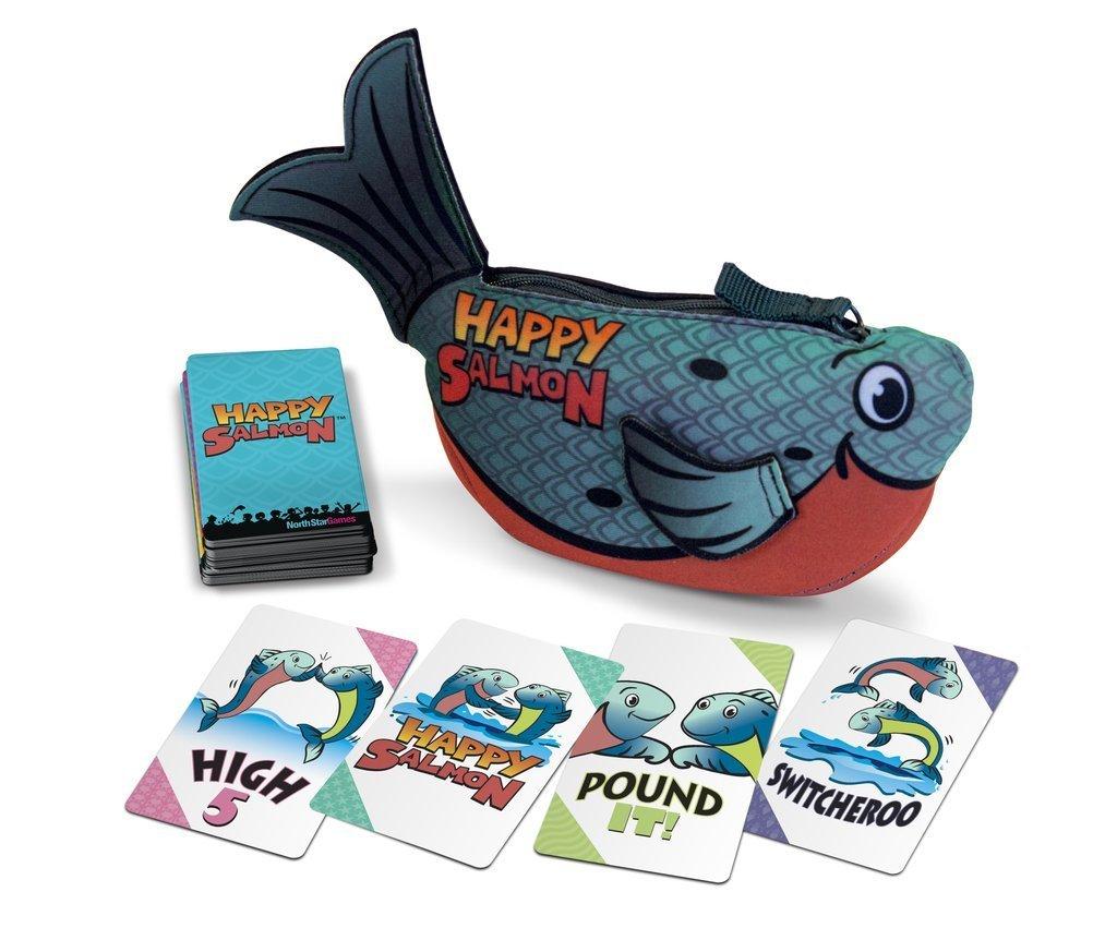 Happy Salmon (Blue)