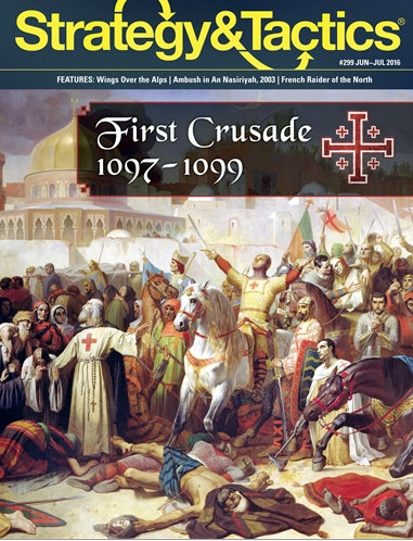 Strategy & Tactics: First Crusade, 1097 - 1099 (Solitaire)