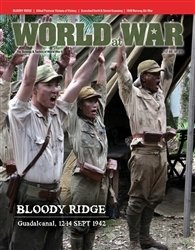 World at War: Bloody Ridge: Decision on Guadalcanal, 12-14 September 1942 (Solitaire)