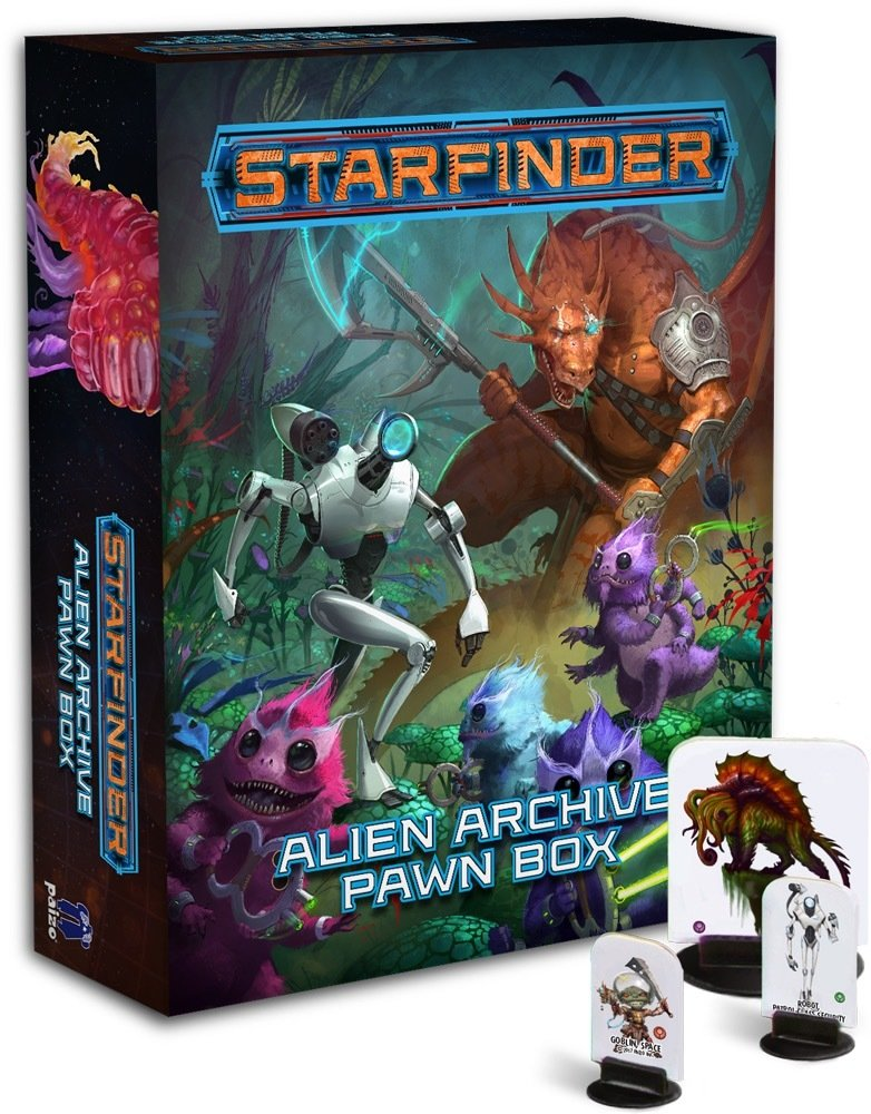 Starfinder Alien Archive Pawn Box (DING/DENT-Light)