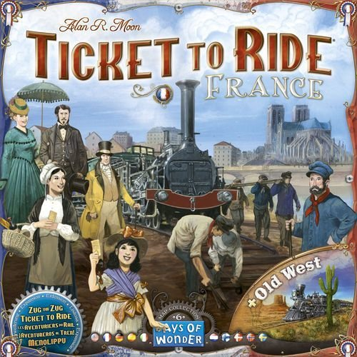 Ticket to Ride Map Collection Volume 6: France and Old West
