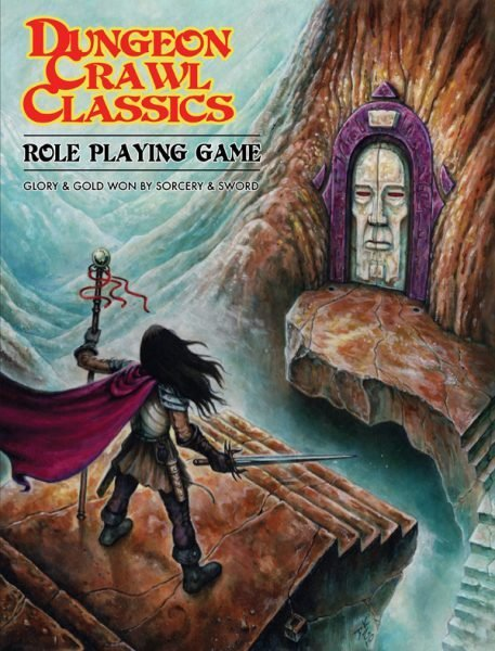 Dungeon Crawl Classics RPG Core Rulebook Softcover Edition