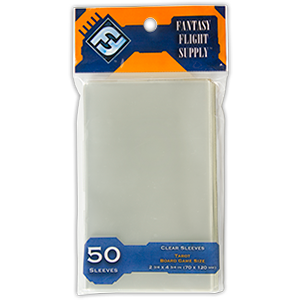 Card Sleeves: Tarot Board Game Size 2.75 x 4.75 (70x120mm), 50/pk Orange Label