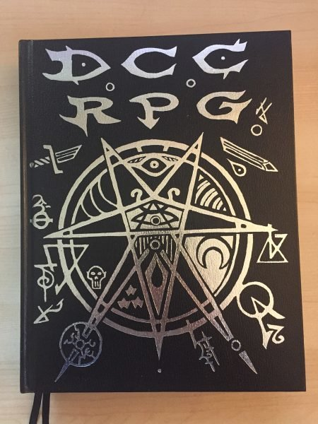 Dungeon Crawl Classics RPG (4th Printing, Hardcover, Limited Edition, Silver Foil Cover)