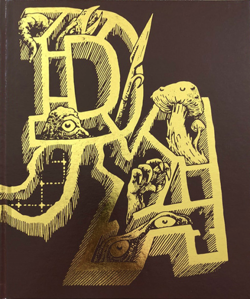 The Dungeon Alphabet (HC, 4th Printing, Gold Foil Cover) - System Neutral