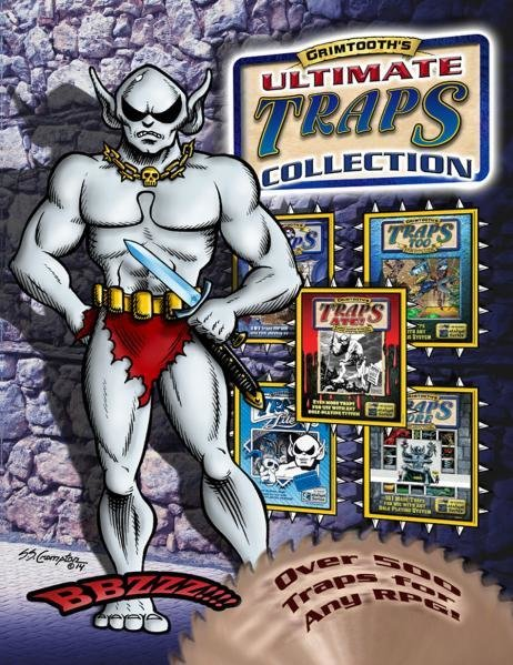 Grimtooth's Ultimate Traps Collection (Softcover Edition) - System Neutral
