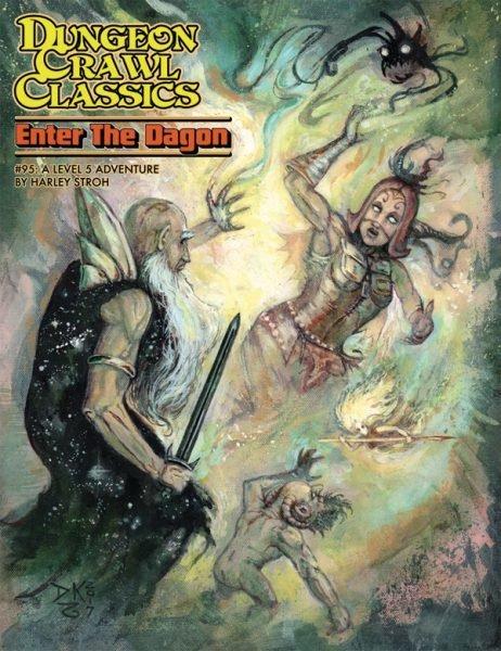 Dungeon Crawl Classics RPG Adventure #95 (L5) - Enter the Dragon