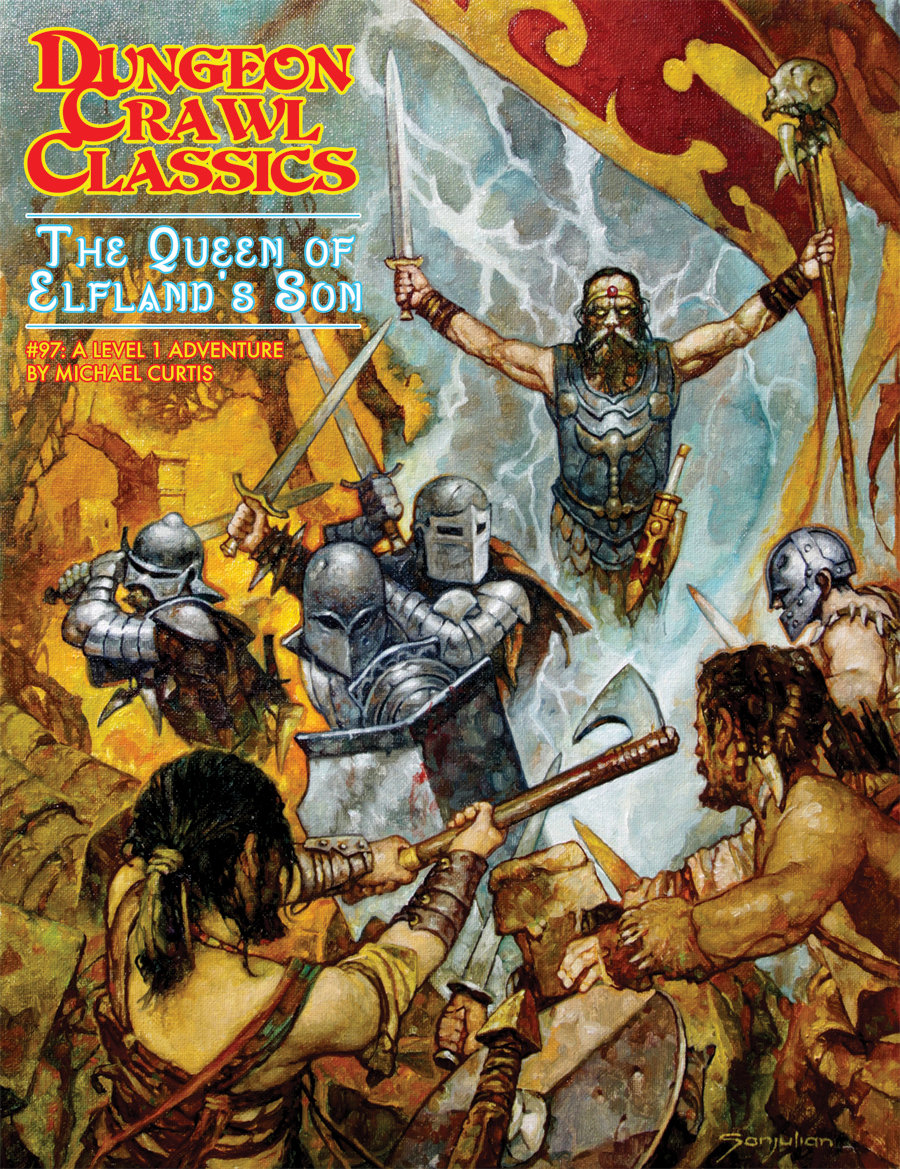 Dungeon Crawl Classics RPG Adventure #97 (L1) - The Queen of Elfland's Son