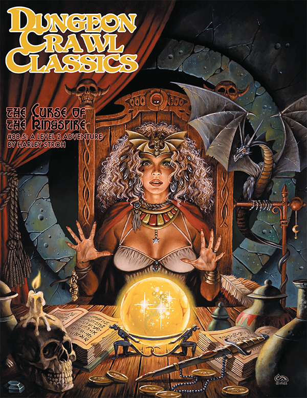 Dungeon Crawl Classics RPG Adventure #88.5 (L2) - The Curse of the Kingspire