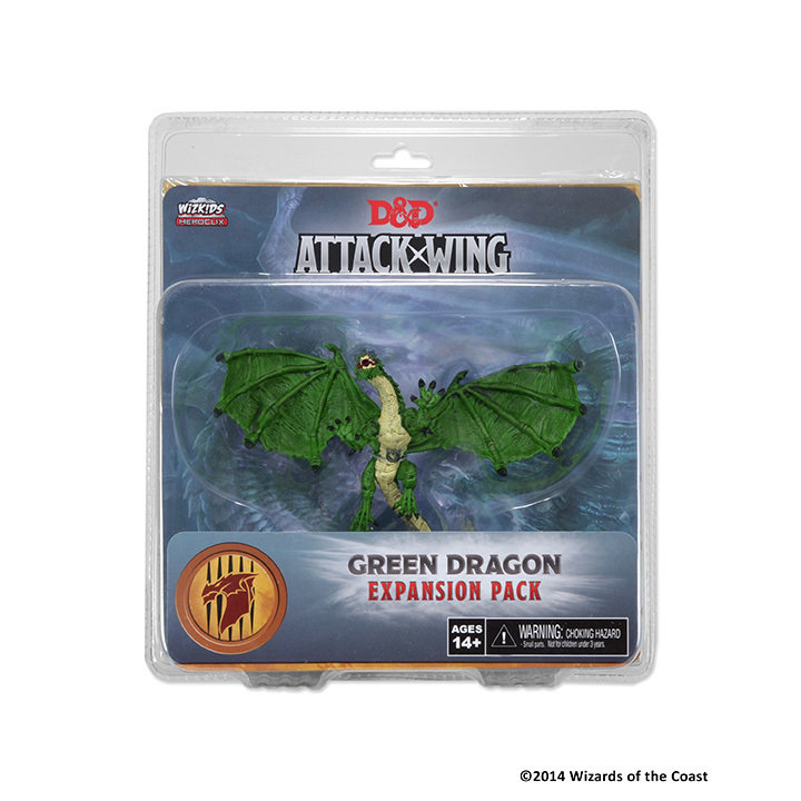 Dungeons & Dragons: Attack Wing Green Dragon Expansion Pack (Wave One)