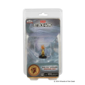Dungeons & Dragons: Attack Wing Sun Elf Wizard Expansion Pack (Wave One)