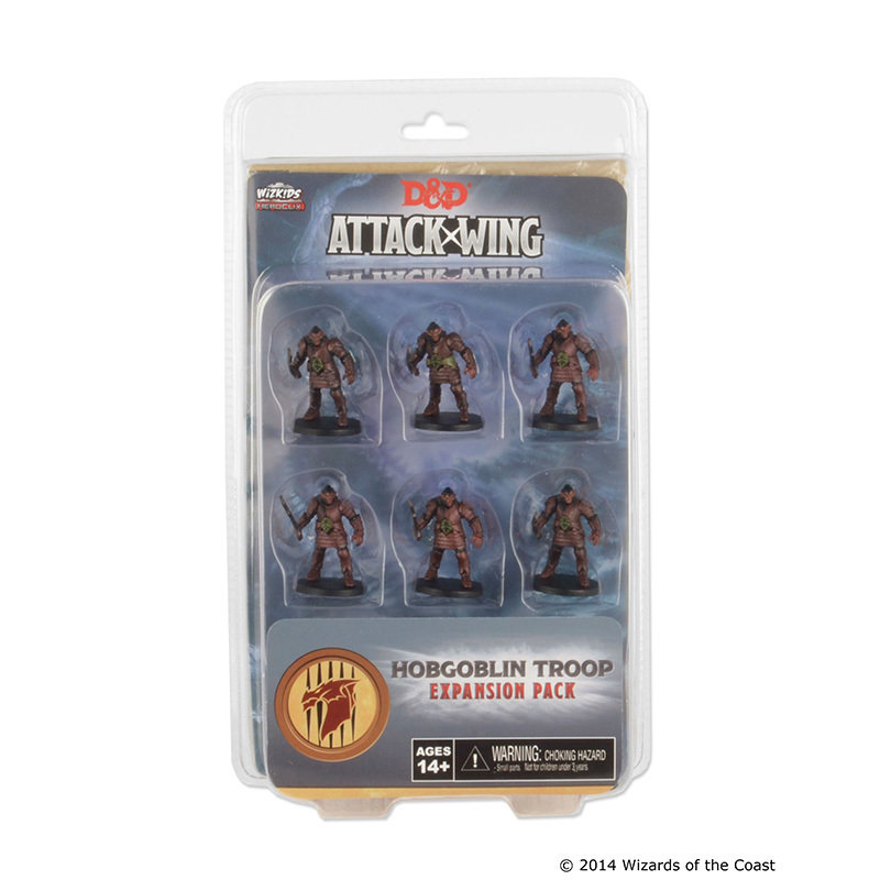 Dungeons & Dragons: Attack Wing Hobgoblin Troop Expansion Pack (Wave One)