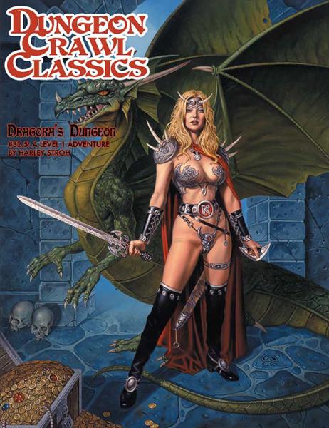 Dungeon Crawl Classics RPG Adventure #82.5 (L1) - Dragora's Dungeon