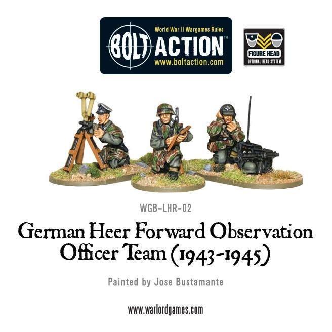 Bolt Action: German Heer Forward Observation Officer Team, 1943-45