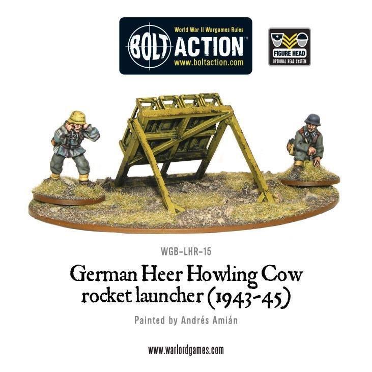 Bolt Action: German Heer Howling Cow: Schweres Wurfgerat 41 Rocket Launcher