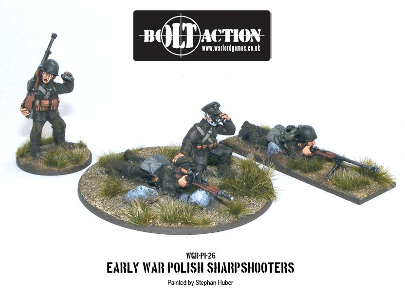 Bolt Action: Polish Army Sharpshooters (Early War)