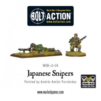 Bolt Action: Imperial Japanese Army Sniper Team
