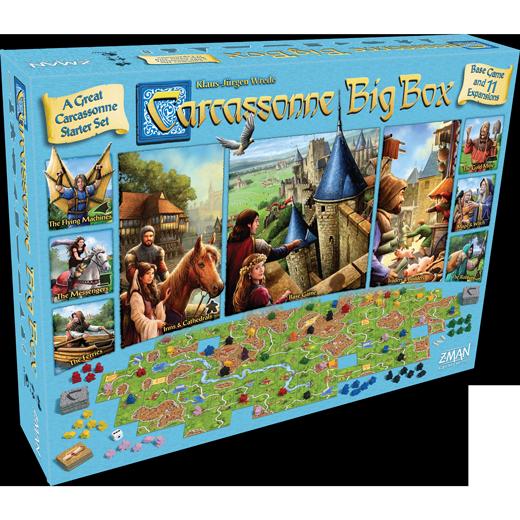Carcassonne Big Box (DING/DENT-Very Light)