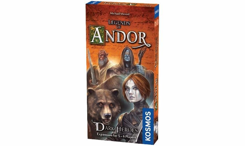Legends of Andor: Dark Heroes Expansion