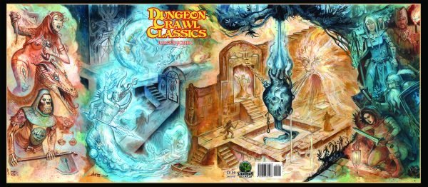 Dungeon Crawl Classics RPG Judge's Screen, Limited Edition - Thakulon the Undying