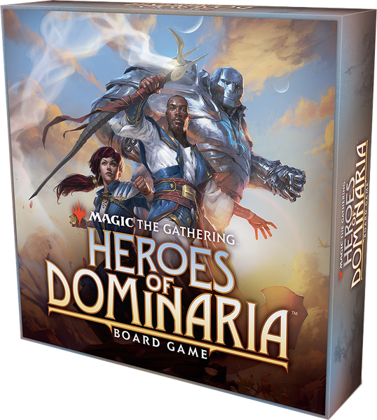 Magic The Gathering: Heroes of Dominaria Board Game, Standard Edition