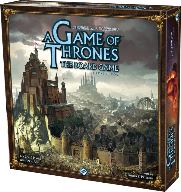 A Game of Thrones: The Board Game, 2nd Edition (Core Game) (DING/DENT-Light)