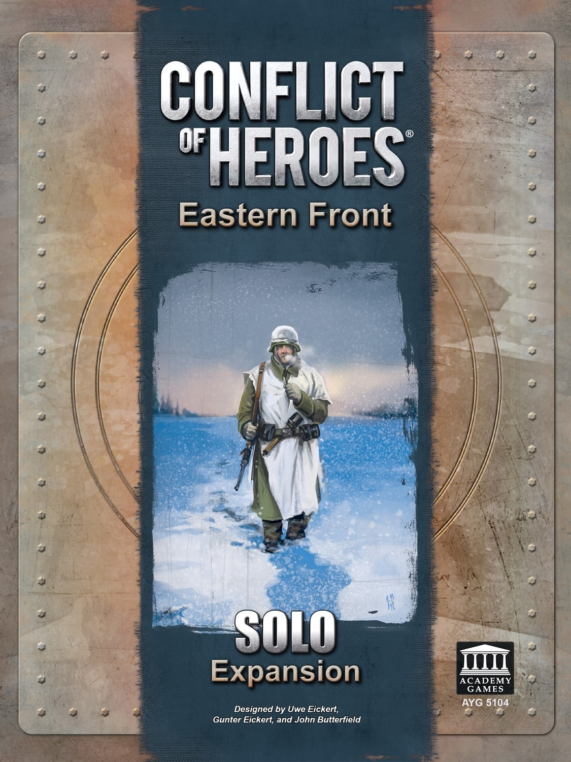 Conflict of Heroes: Eastern Front Solo Expansion (DING/DENT-Light)