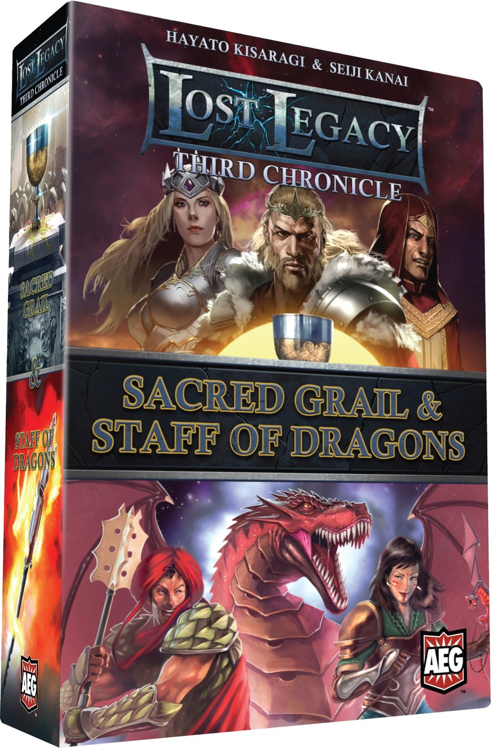Lost Legacy: Third Chronicle: Sacred Grail & Staff of Dragons