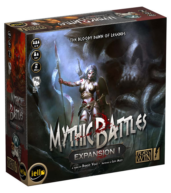 Mythic Battles Expansion #1: The Bloody Dawn of Legends