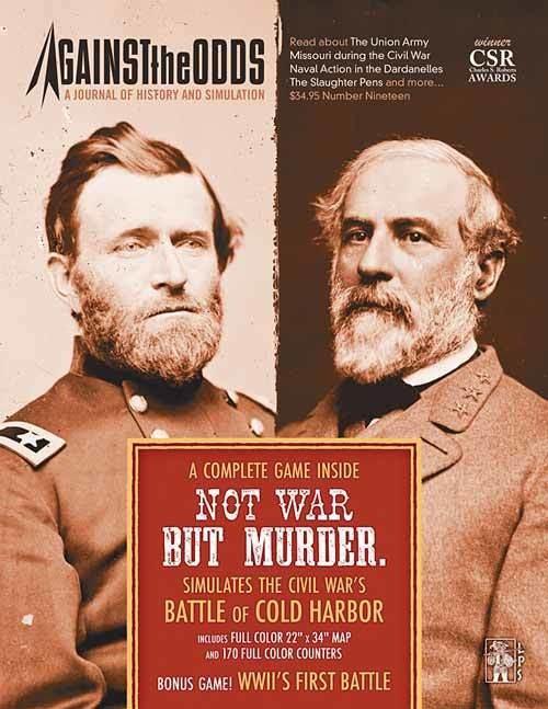 Against the Odds #19: Not War But Murder