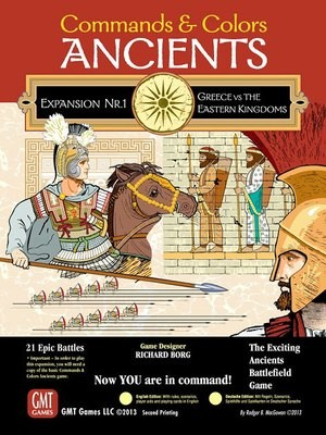Commands & Colors: Ancients Expansion Pack 1 - Greece & Eastern Kingdoms, 3rd Printing