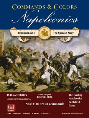 Commands & Colors: Napoleonics Expansion - The Spanish Army, 3rd Printing