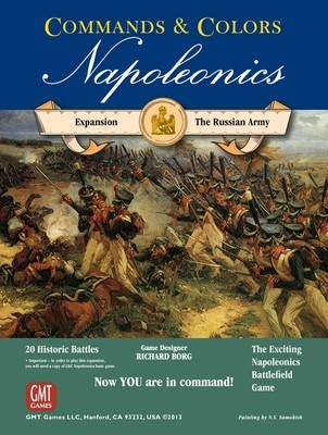 Commands & Colors: Napoleonics Expansion - The Russian Army, 3rd Printing