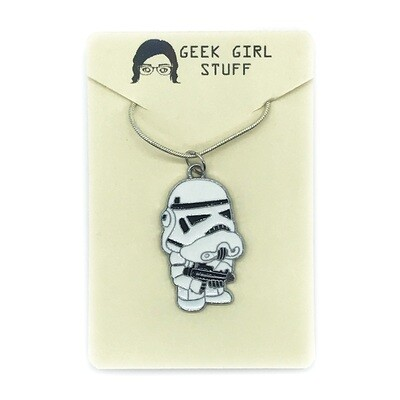 Charm Necklace - Grumpy trooper