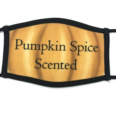 Pumpkin Spice Scented fabric mask - small/medium