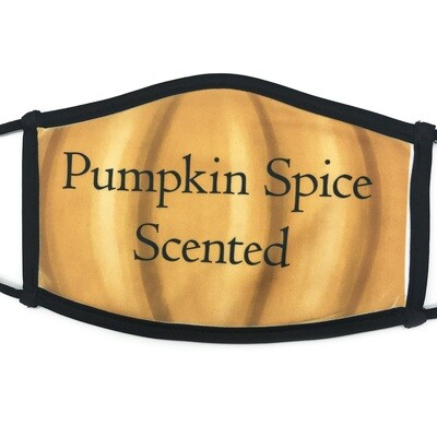 Pumpkin Spice Scented fabric mask - large