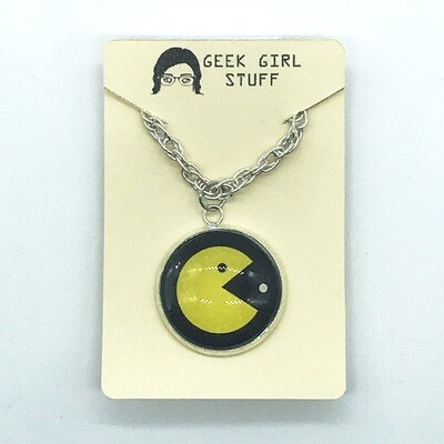 Photo Necklace - Pacman