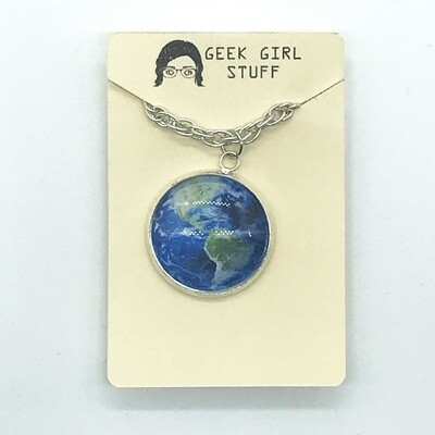 Photo Necklace - Earth